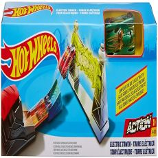 hot wheels torre electrica