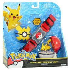 pokemon clip carry poke ball belt pikachu